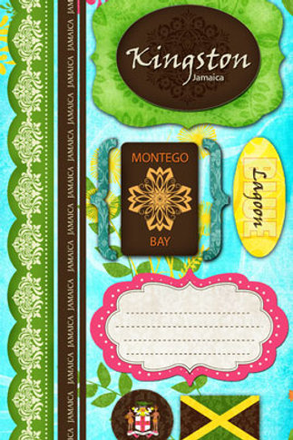 Jamaica Paradise Stickers