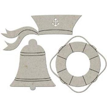 Chipboard Sailor Pieces