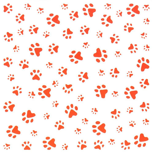 Paws Embossing Design Folder