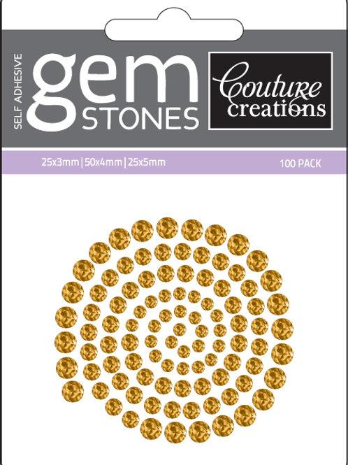 Vintage Gold Gemstones