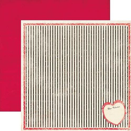 Lovely, Valentine Cardstock