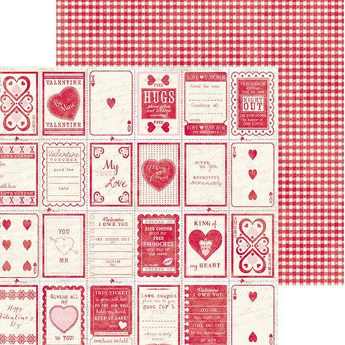 Smitten, Promise Cardstock