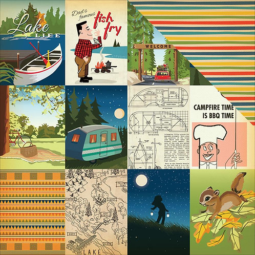 The Great Outdoors, Journalling Cards Cardstock
