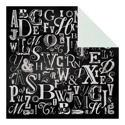 Chalk Studio Lettered Cardstock