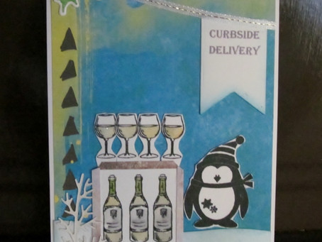 Curbside Delivery Wine Cards