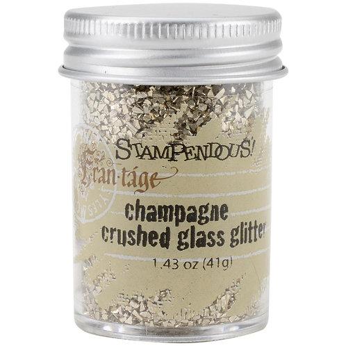 Champagne Crushed Glass Glitter