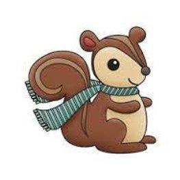 Snag 'em Stamp Squirrel