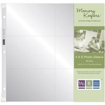"We R Memory Keepers Photo Sleeves 12x12"" Page Protectors"