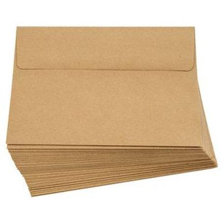 A2 Kraft Cards and Envelopes 10pk