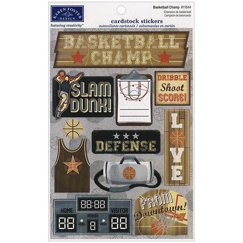 Basketball Champ Sticker Sheet