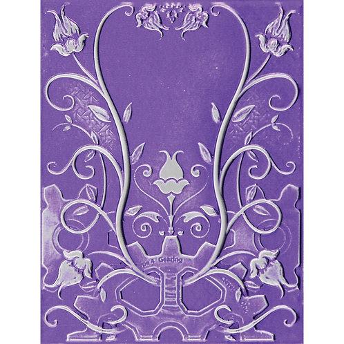 Floral Jewel 3D Embossing Folder