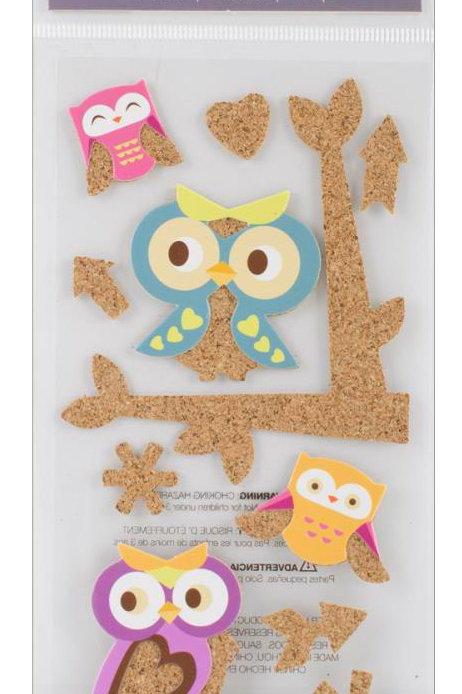 Cork'd Embellishments, Owls