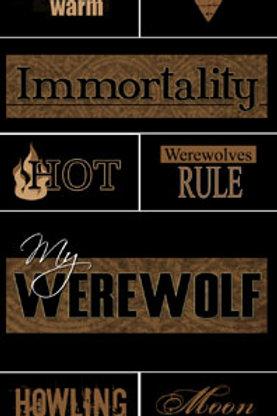Werewolf Stickers