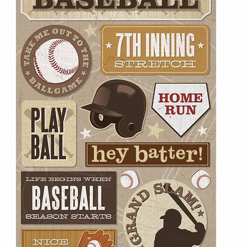 7th Inning Stretch Sticker Sheet