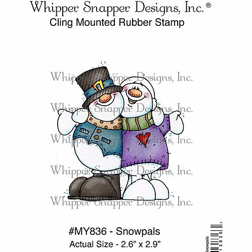 Snowpals Cling Rubber Stamp