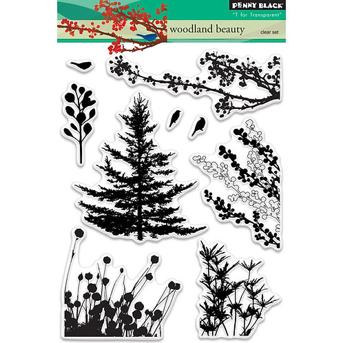 Woodland Beauty Clear Stamp Set