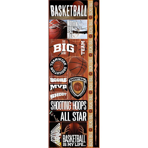 Basketball Real Sports Sticker Sheet