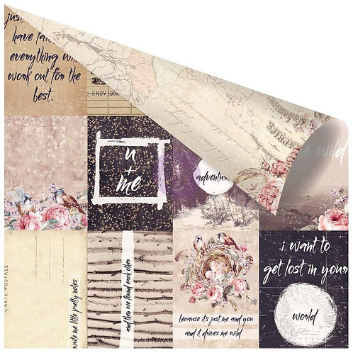Wild and Free Pretty Little Notes Cardstock