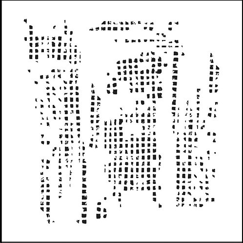 Mini Tile Texture 6x6 Stencil