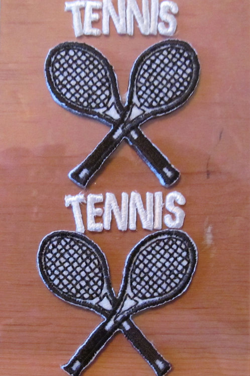 Tennis Embroidered Stickers