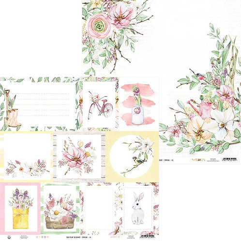 P13 Four Seasons Spring 05 Cardstock