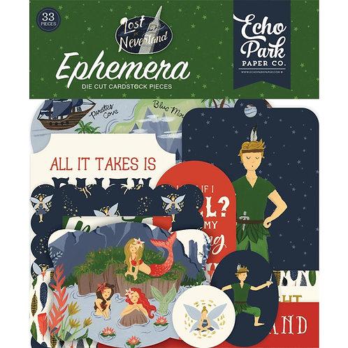 Lost in Neverland Ehemera Pack