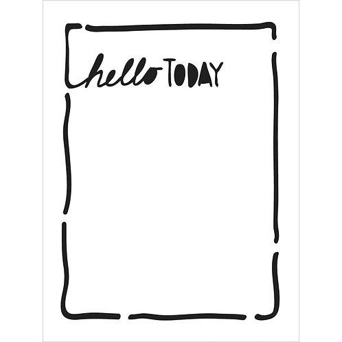 Hello Today, 3x4 Life Bits