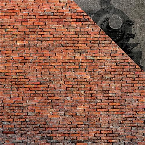 Wizard 101 Brick Wall Cardstock