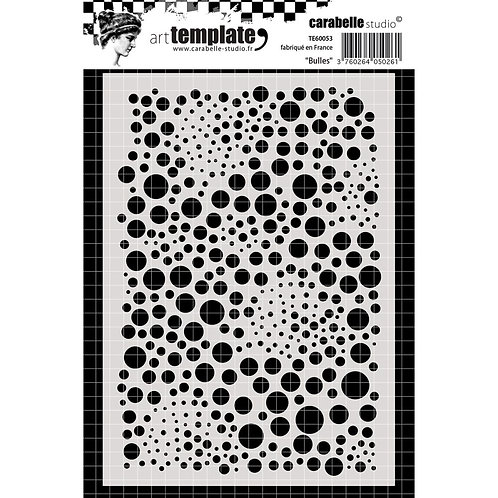 Bubbles Art Template