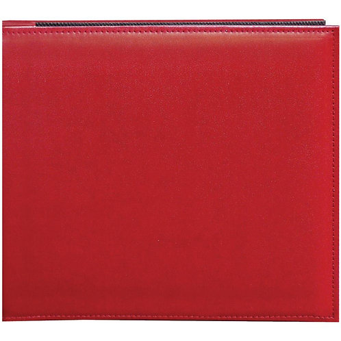Red Faux Leather 8x8 Snapload Album