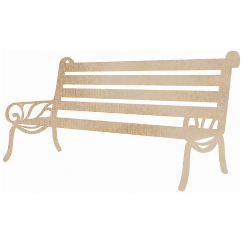 Wooden Flourishes, Bench Seat