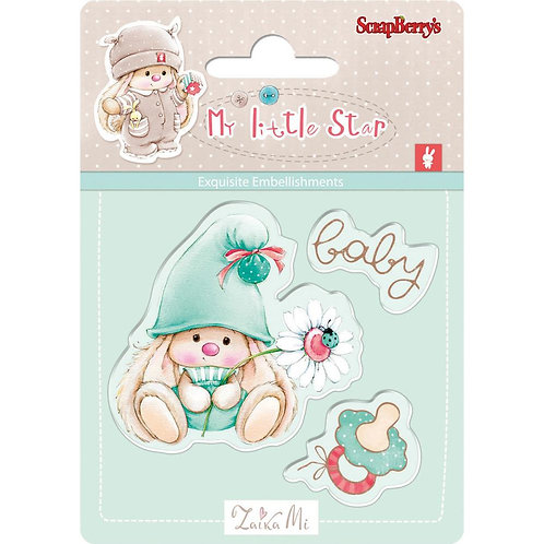 My Little Star Clear Stamp Set