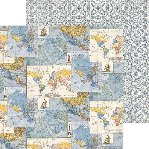 Quest 2 World Maps Cardstock