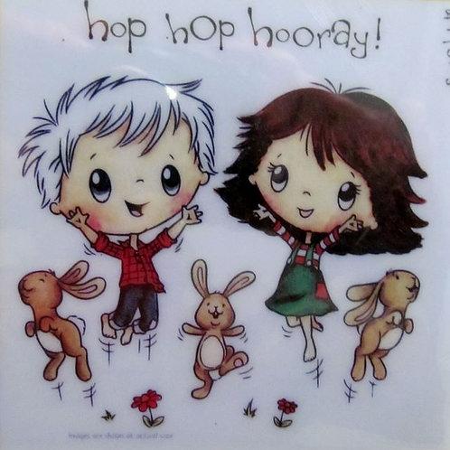 Hop Hop Horray Stamp
