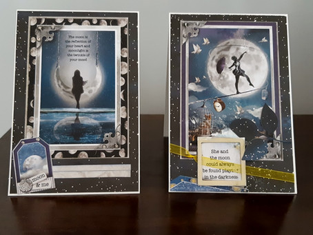 Moonlit Inspiration with Ciao Bella Paper