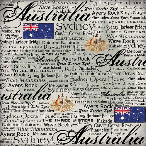Australia Scratchy Paper