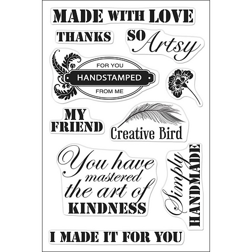 So Artsy Clear Stamps