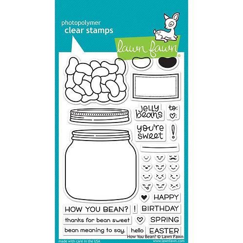 How You Bean Clear Stamp Set