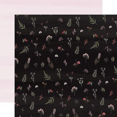 Flora No. 3 Elegant Stems Cardstock