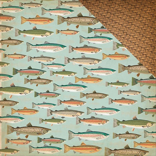 The Great Outdoors, Gone Fishing Cardstock
