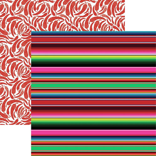 Mexican Blanket Cardstock