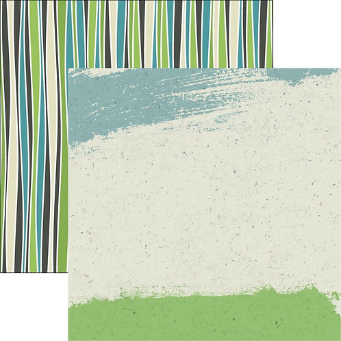 Earth Day Go Green Cardstock
