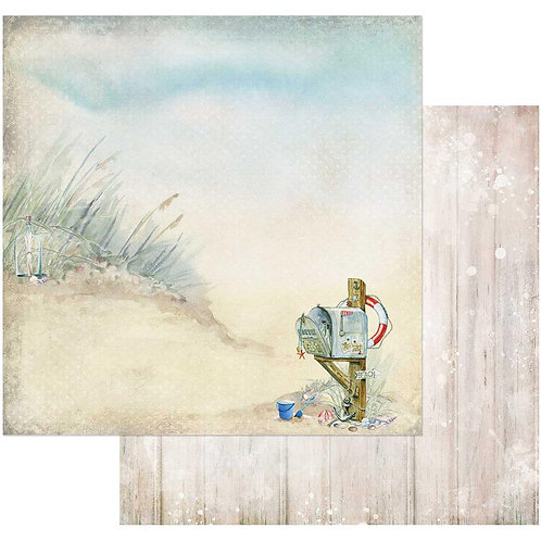Sand and Sea Beach this Way Cardstock