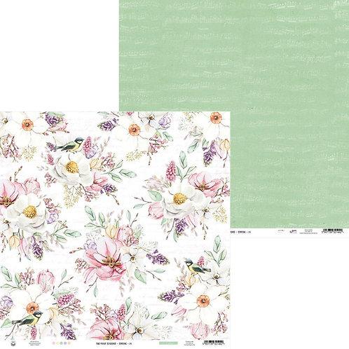 P13 Four Seasons Spring 04 Cardstock