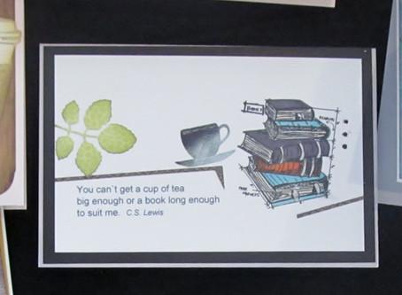 Tea and Books card