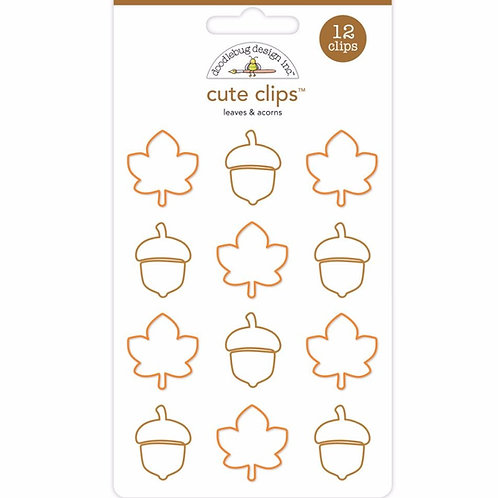 Leaves and Acorns, Cute Clips