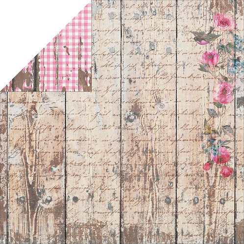 Industrial Chic Wood 2 Cardstock