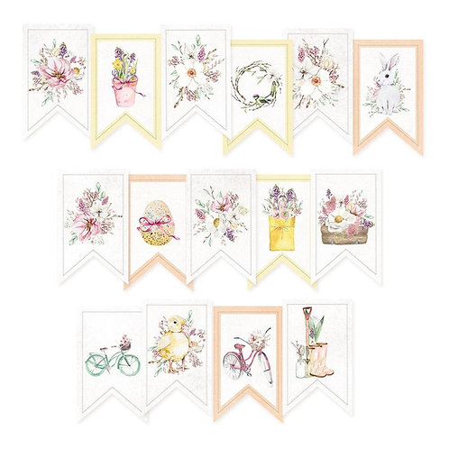 Four Seasons Spring Garland Tags