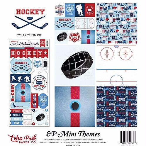 Hockey Mini Theme Kit 12x12