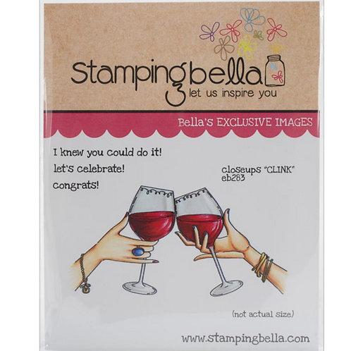 Clink Cling Rubber Stamp Set